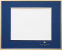 Frame Degree Gold Single Mat Crested