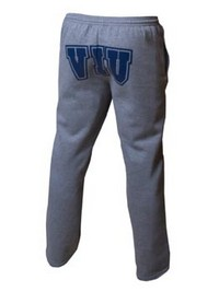 Men's Russell Sweatpant With Open Leg And Side Pockets. 50% Cotton 50% Polyester.