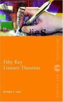 Fifty Key Literary Theorists (SKU 1029852720)