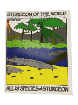 Sturgeon Of The World Coloring Book - G.R.Fitch (SKU 1039473111)