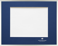 Frame Degree Silver Single Mat Crested