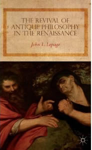 Revival Of Antique Philosophy In The Renaissance (SKU 1052197720)