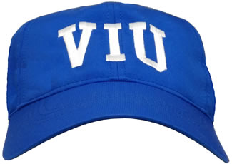 Hat Ballcap Nike Royal Velcro Back Viu Crest (SKU 1059046121)